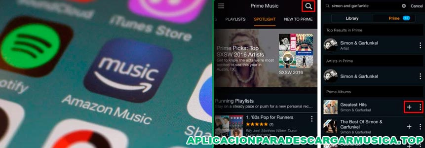 amazon prime music para iphone