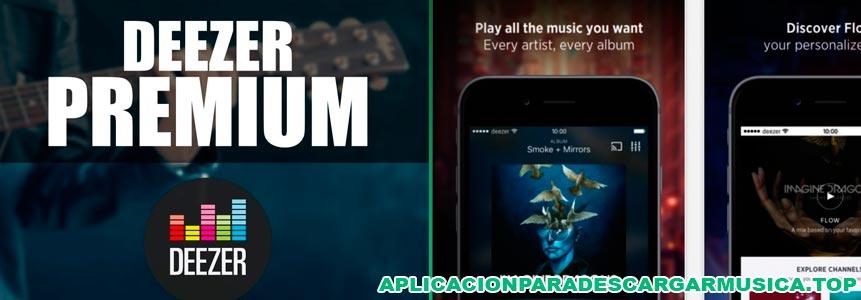 música offline para iphone con deezer