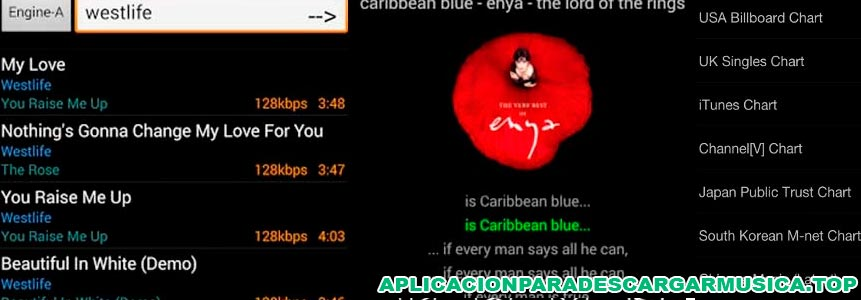 imagen que muestra la app music mp3 downloader