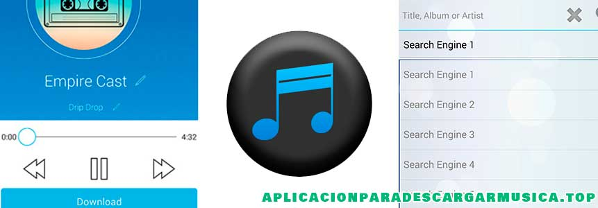 con la aplicación simple mp3 downloader conseguirás música gratis