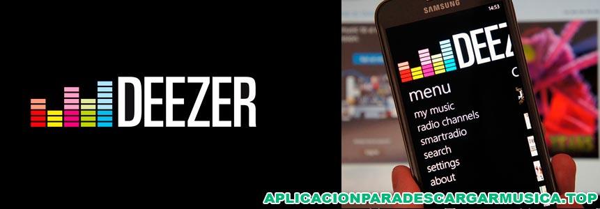 capturas de pantalla de la app para descargar música sin internet deezer music