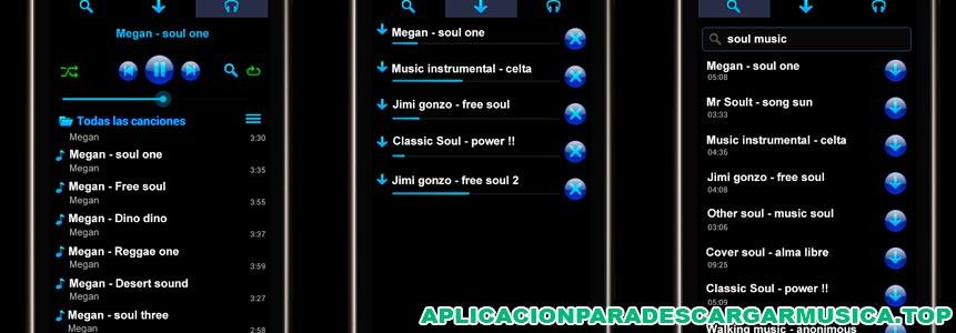imagen de la app straussmp3 para bajar música de youtube